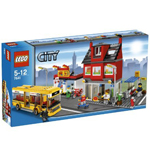 Lego town street corner of (LEGO) City LEGO (LEGO) 7641
