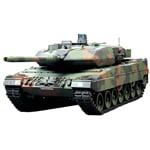 タミヤ 116 ラジオコントロールタンクシリーズ No.19 ドイツ連邦軍主力戦車 レオパルト2 A6 フルオペレーションセット (4チャンネルプロポ、バッテリー、充電器付き) 56019