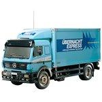 タミヤ 114 電動RCビッグトラックシリーズ No.07 メルセデス ベンツ 1850L パネルバントラック 56307