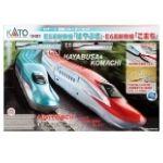 複線スターターセット E5系新幹線 はやぶさ・E6系新幹線 こまち  鉄道模型入門セット  10-031